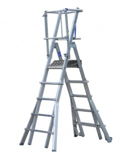 Extendable-Podium-Ladder