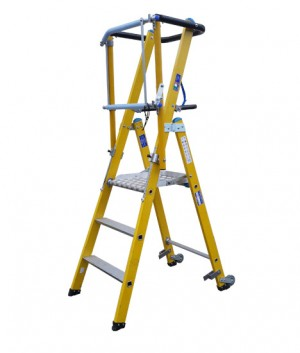 Fibreglass Fixed Height Podium Box Section Ladders