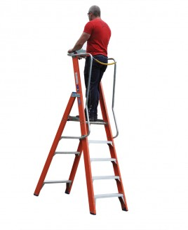 fibreglass-channel-section-fixed-podium-ladders