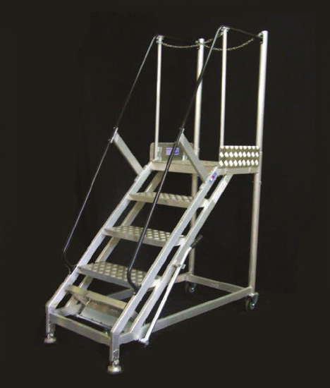 Mobile Staircase Stradbally Ladders